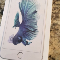 Apple iPhone 6s Plus 128GB Silver Smartphone