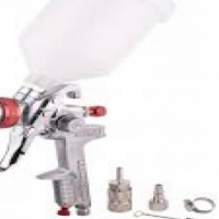 Spray gun HVLP 1.4mm nozzle with female connector & universal coupler