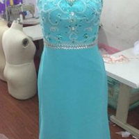 Stunning size 8 dress in stock