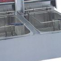 2 X 5 LT ELETRIC CHIP FRYER  - TABLE MODEL