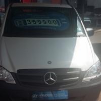 2013 Mercedes Vito 116 CDI Crewbus , 71,000 km's