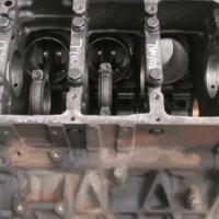 Mercedes Benz OM541LA V6 Engine Block