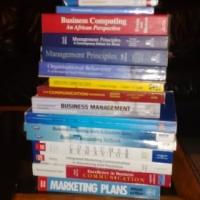 Marketing & Business Management  2nd Books R150-R200 each