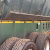 Top Trailer Double Axle 40 Cube Side Tipper Link