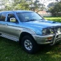 2000 mitsubishi colt 2.8 turbo diesel 4x4 dc