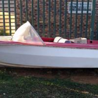 3.8m Impala speed boat
