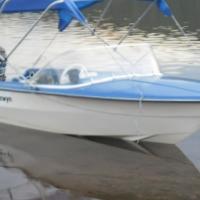 4m Gazelle  boat  50hp