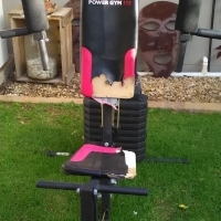 Gym equipment  x4 for sale