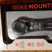 Bicycle cellphone holder