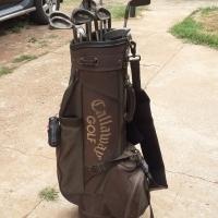 Golf Set with Callaway Golf Bag