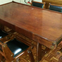 FOR SALE: SOLID IMBUIA DINING ROOM SUITE