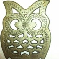 owl  cast iron pot stand  2 x R50 ea