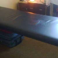 For Sale: Modern design massage table.