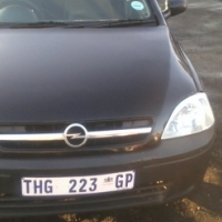 Opel corsa 1.4 2006 Model,3 Doors factory A/C And C/D Player