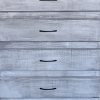 Chest of drawers Farmhouse series 800 with 4 drawers - Weathered look