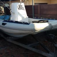 5m semi rigide inflatable with 65 suzuki 2stroke