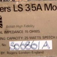 BBC LS 3/5A bookshelf Monitor