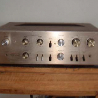Pioneer SA-800 finished in champagne and wood grain,