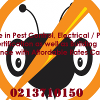 Fumigation / Pest Control from R25o.oo