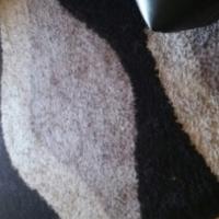 Modern Black and grey rug