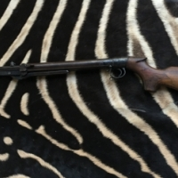 Very old improved model d air rifle
