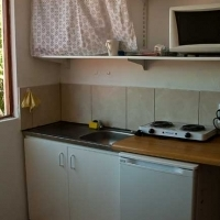 room with a view kitchenette and safe parking