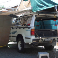 Off road camper.