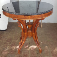 Victorian Spindle Oak Table