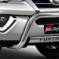Toyota Fortuner 2016+ Nudge Bar & Side Steps Combo R7999.00 STAINLESS STEEL