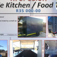 Custom Made Trailers - Food Trailers etc.