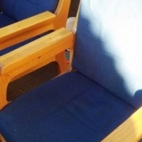 Oak Visitors Chairs