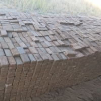 Second hand paving bricks