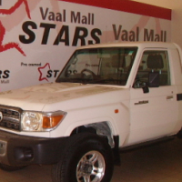 2011 White Toyota Land Cruiser 79 4.2D Pick Up With 209000KM