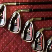 Taylormade burner plus clubs
