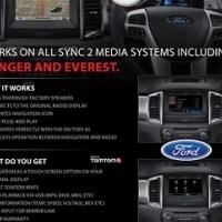 Ford Approved Ranger 2016,Everest,Focus ST & Fusion Sat Navigation System