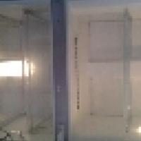 Bosch silver fridge freezer 330l