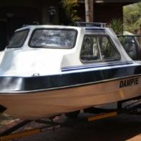 Cabin Cruiser boat plus 60hp Mariner