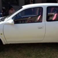 White Opel Corsa 1600I