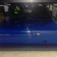 """Like New Black Xbox 360 Blue """"E"""" Edition with 2 Controllers, 500GB HardDrive & 5 Original Games... for sale  East Rand"""
