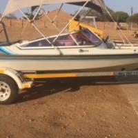 Raven 160 Boat with 115 Yamaha motor
