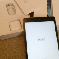 In box, Like new Latest Space Grey iPad Mini 2 16gb & WiFi, with all accessories included in Sale...