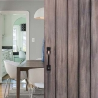 Customise a 'Barn Style' Sliding Door Using Decorative Resin Studs
