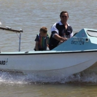 Arrowhead river boat With 40hp 3 cylinder autolube yamaha