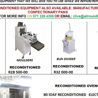 SECOND HAND BAKERY EQUIPMENT RECONDITIONED