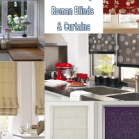 Eco Roman Blinds and Curtains