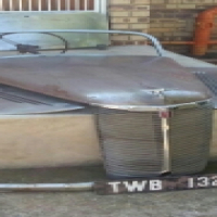 1940s Ford Prefect Grill and Bonnet