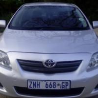 2010 Toyota Corolla 1.6 Professional With Low Millage.
