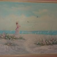 L Keswick Oil Painting