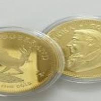 1 oz Gold Plated Krugerand for SALE