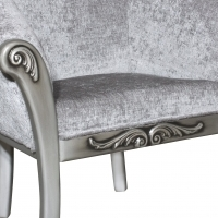 Classic Tub Chair with Carving